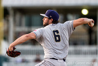 Mission Baseball's Chris Huffman wind up